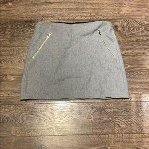 Women's Wool Mini Skirt